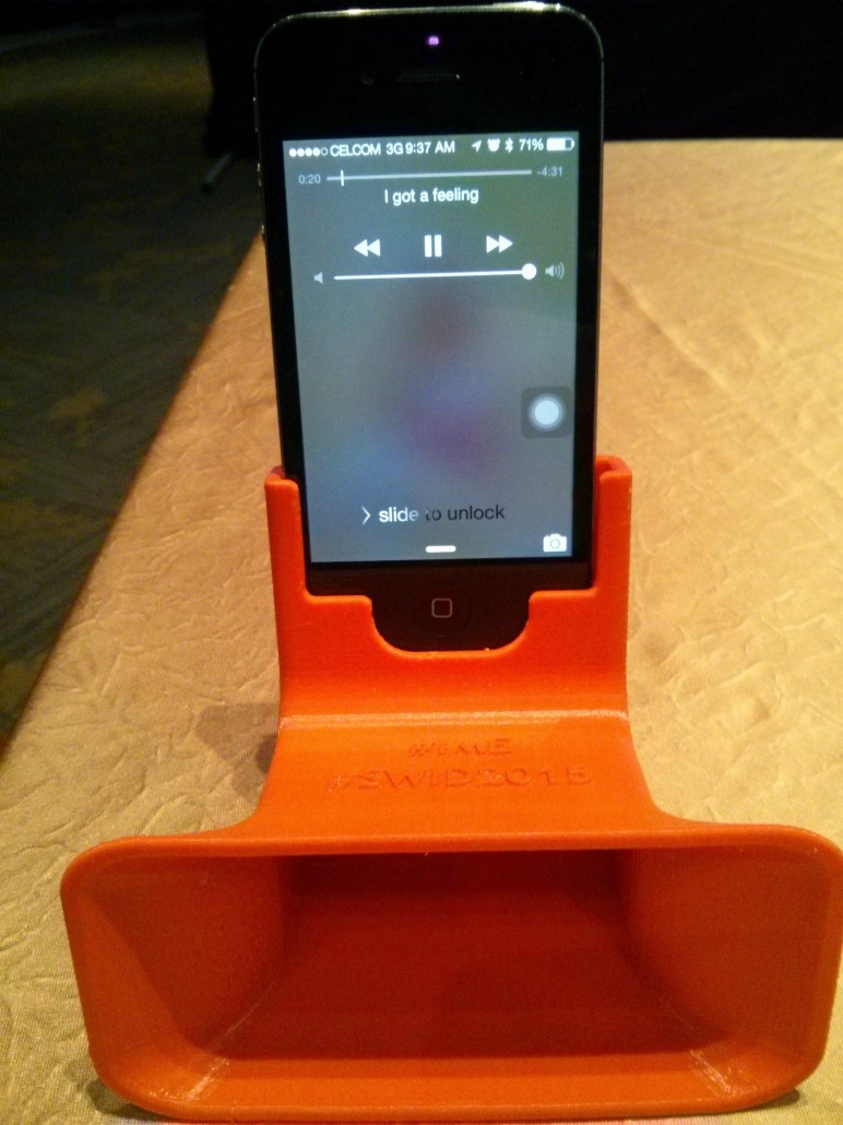 3D Printed iPhone Amplifier Functional Test