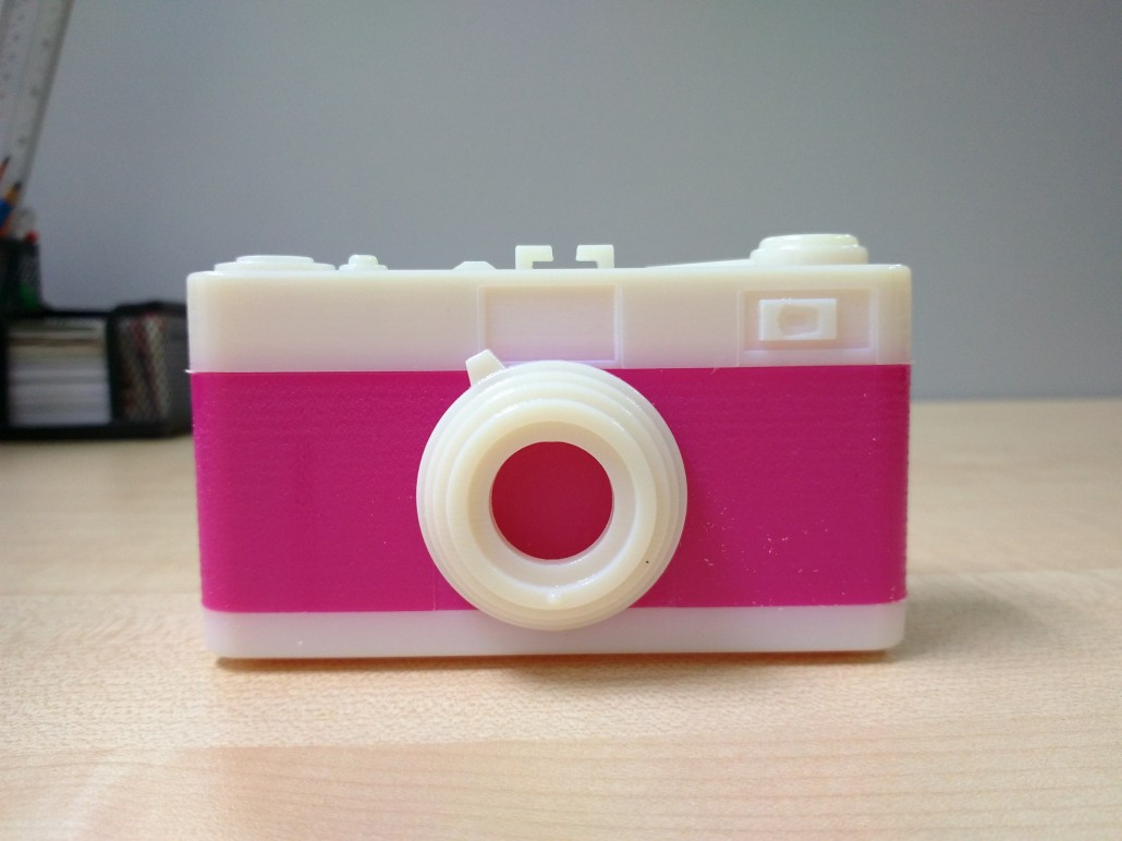 3D Printed Pin3D Printed Pinhole Camera From The Fronthole Camera Front View